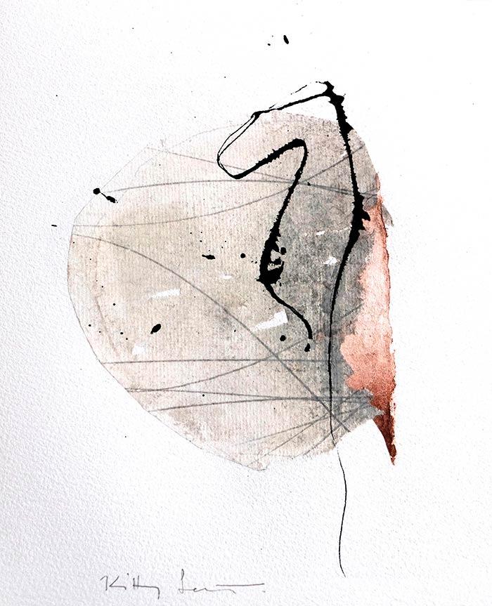 Techniques mixtes sur papier201917 x 23 cmRéf. : KS19-TMP-1724