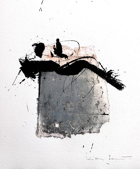Techniques mixtes sur papier201817 x 23 cmRéf. : KS18-TMP012