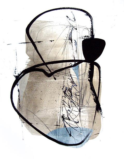 Techniques mixtes sur-papier201680 x 100 cmRéf. : KS16-TMP-8710